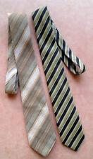 vintage Krawatten, Schlips, elegante Binder, 2 Stück