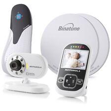 Motorola MBP26 Inalámbrico Monitor De Vídeo Digital + Paquete De Respiración Bebé Babysense 5