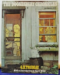 The Doonesbury Chronicles by G.B. Trudeau - Paperback c.1975