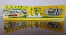 Matchbox Lesney Series Sales and Service stations BP Shop Display Stand