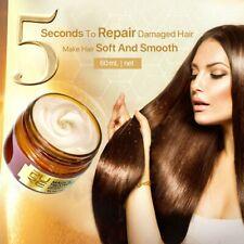 PURC Magical keratin Hair Treatment Mask 5Seconds Repairs Damage Hair Root 60 ML