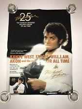 Michael Jackson Thriller 25 korea double-sided 60x43 cm