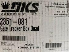 DKS DOORKING 2351-081 LOCKABLE WEATHER RESISTANT ENCLOSURE