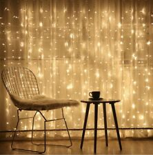 300 LED Window Curtain String Light Wedding Party Home Garden Bedroom