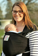 Lifft Slings Stretchy Wrap Baby Carrier - Black