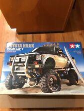 Tamiya 1:10 Toyota Hilux High Lift 4x4 3 Speed EP Crawler RC Cars Kit #58397