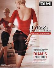 ▬► PUBLICITE ADVERTISING AD Collant minceur DIM Diam's 2013