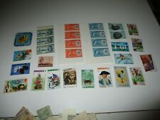 Postage Stamps:Great Britain Colony, used and Unused, unsorted
