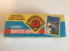 1990 Bowman Baseball Complete Factory Sealed Set Of 528 Cards! Sosa,Thomas RC's