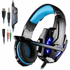 AFUNTA G9000 Stereo Gaming Headset for PS4 PC Xbox One Controller Noise Cance...