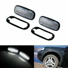 Rover 45 75 MG ZS ZT ZT-T LED Clear Wing Repeater Indicators XGB100310 x2