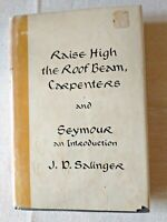 First Edition Raise High the Roof Beam J D Salinger TYPO no dedication