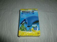 Tetra Whisper 40 Aquarium Air Pump #77848, NIB        C916