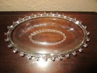 Heisey Lariat #1540 Oval Bowl / Celery Dish