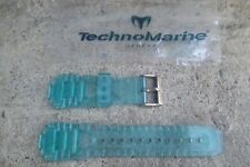 Authentic TechnoMarine Silicone Watch Strap Band Green 19MM Raft Rsx (45mm) NEW!