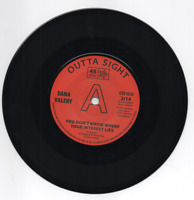 DANA VALERY You Don't Know Where Your Interest Lies NEW NORTHERN SOUL DEMO 45