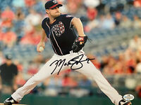 Max Scherzer Washington Nationals MLB Signed Autographed Photo 8x10 -- COA