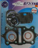 KR Motorcycle complete TOP END gasket set for HONDA CB 360 CJ 360 CL 360 73-77