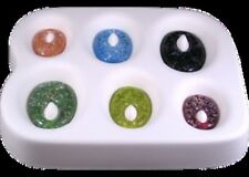 Colour de Verre Oval Pendants Glass Casting Fusing Jewelry Mold