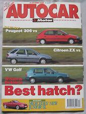 AUTOCAR 31/3/1993 featuirng Lancia Hyena, Mitsubishi Galant, VW Golf, Citroen