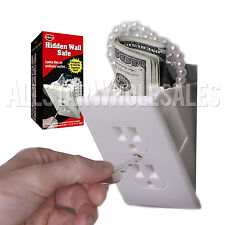 Hidden Wall Electrical Outlet Diversion Safe - Secure Protect Stash Valuables