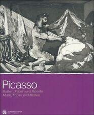 Fachbuch Pablo Picasso, Mythen, Fabeln und Modelle, REDUZIERT, tolle Bilder, NEU