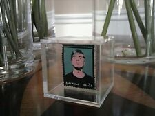 "Postage Stamp Display Box  Crystal Clear and Protective      2"" by 2"" by 2"" Size"
