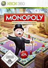 Monopoly -- con Classic e World Edition (Microsoft XBOX 360, 2008) * BUONO *