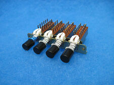 ALPS 4-Pushbutton Switch Assy: 4 X 4PDT, 3 interlocking 1 independent ($4.95/ea)