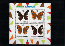 Dominica Commonwealth 2013 MNH Caribbean Butterflies I 4v M/S Insects Buckeye