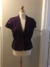M & S Ladies Linen Mix Jacket/blazer, Size 16, Brand new With Tags Rrp £29.59