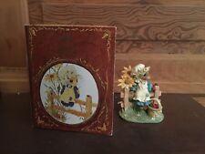 1995 Enesco Priscilla Hillman Ladybug, Ladybug Mouse Tales Figurine with Box