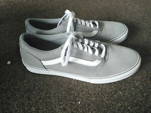 Vans Old Skool Pumps Trainers Shoes Girls Womens Size 6.5 Grey VGC Worn once