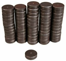 Creative Hobbies Ceramic Industrial Magnets -11/16 Inch (.709) Round Disc -