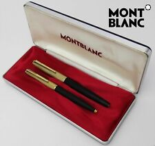 Set MONTBLANC Fountain Pen 224 & Ballpoint Pen 284 in Box