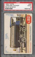 1955 Topps Rails & Sails #49 Fireless Cooker PSA MINT 9 *1521