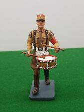 KING AND COUNTRY WW2 GERMAN SOLDIER PLAYING DRUM BOXED 925