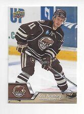 2014-15 Upper Deck AHL #37 Kris Newbury (Fischtown Pinguins)