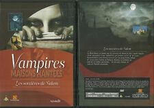 DVD - VAMPIRES : MAISONS HANTEES - LES SORCIERES DE SALEM DOCU / COMME NEUF