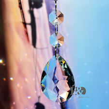 1 Suncatcher Hanging Crystals Rainbow Prism Feng Shui Window Redbud Pendant 50mm
