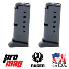 2x ProMag 6 Round .380 ACP Blue Steel Clip Magazine RUG13 for Ruger LCP & LCP II