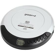 Groov-e GVPS110 Retro Series Personal CD Player With LCD Display Silver - New