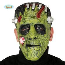 Adulte Halloween Horreur Frankenstein Masque Déguisement Vert Monster Visage fg