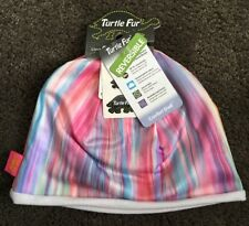 Turtle Fur Comfort Shell Beanie Adult Cap Pink Blue Reversible New UPF 50+