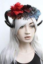 Sheild Maiden Warrior Witch Ram Horn Dread Crown Boho Head Band Indie Gothic