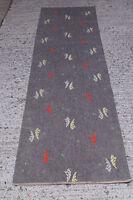 50er Rockabilly TEPPICH Kurzflor CARPET RUG (255cm x 66cm) 50s LÄUFER Vintage