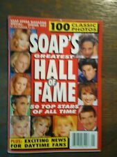 SOAPS GREATEST HALL OF FAME FROM SOAP OPERA'S MAGAZINE SPECIAL SPRING 1997