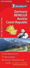 Germany, Benelux, Austria, Czech Republic National Michelin Map 719