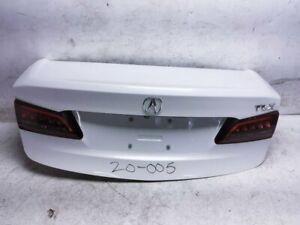 15 16 17 18 19 20 Acura Tlx Trunk Lid Rear Deck 68500-Tz3-A90zz White