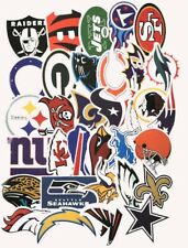 NFL TEAM LOGO DIE CUT VINYL STICKERS CHOOSE YOUR TEAM BUY 3 GET 1 FREE